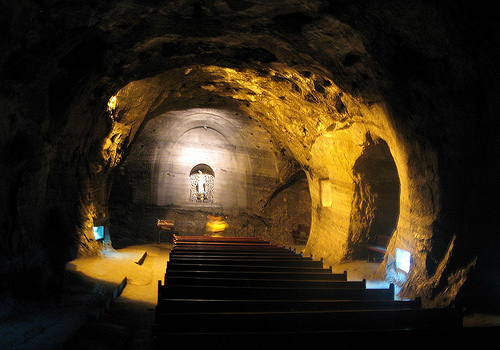 colombian salt mine church